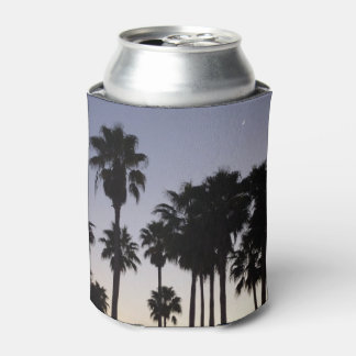 Dusk with Palm Trees Tropical Scene Can Cooler