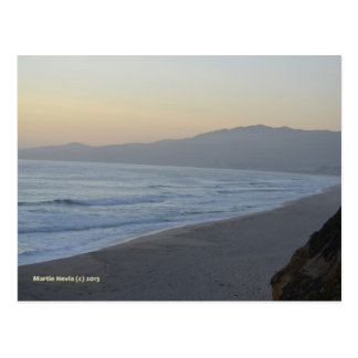 Dusky Beach Postcard