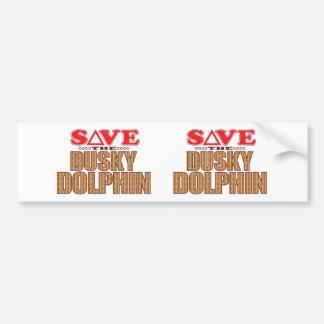 Dusky Dolphin Save Bumper Sticker