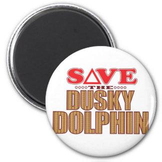 Dusky Dolphin Save Magnet