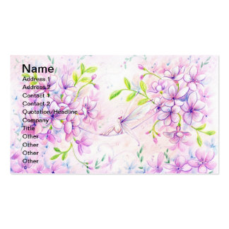 Dusky Pink Business Card