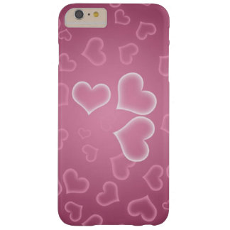 Dusky Pink Hearts iphone 6 case