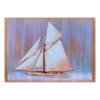 Dusky Sails ATC Large Business Card