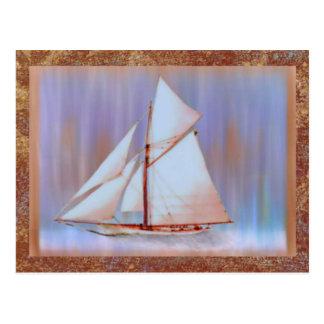 Dusky Sails Father s Day custom Post Cards