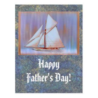 Dusky Sails Father s Day custom Postcards