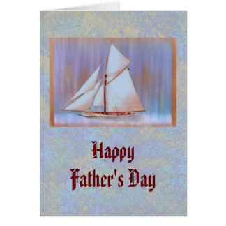 Dusky Sails Father's Day custom Card