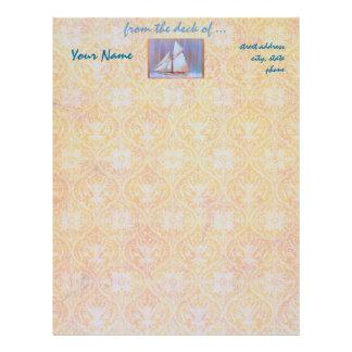 Dusky Sails letterhead