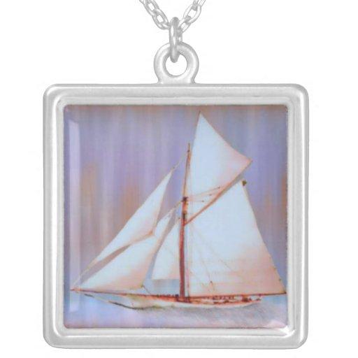 Dusky Sails necklace