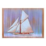 Dusky Sails photo print