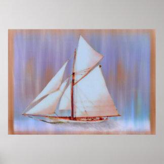 Dusky Sails print