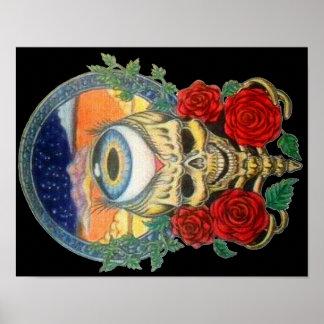 dusky skull poster