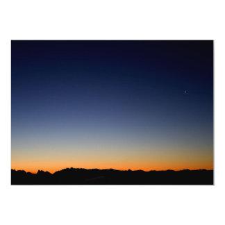 Dusky Skyline Card