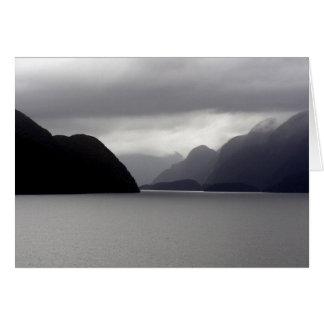 Dusky Sounds, New Zealand Greeting Cards