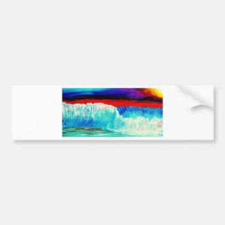 Dusky Waves Bumper Sticker