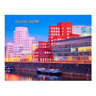 Düsseldorf 02E Tarjeta Postal