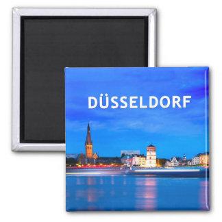 Düsseldorf 06C Imán Cuadrado