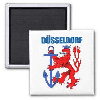 Dusseldorf 2 Inch Square Magnet