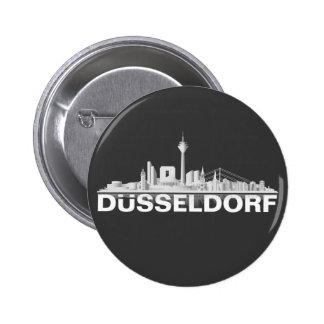 Düsseldorf City horizonte, Anstecker/ Boton