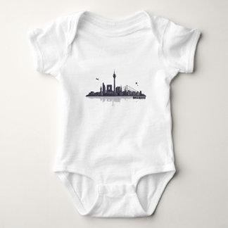 Düsseldorf City horizonte Body Para Bebé
