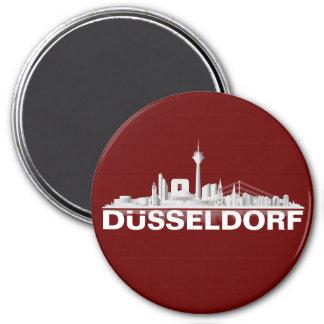 Düsseldorf City horizonte/