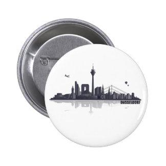 Düsseldorf City horizonte Pin