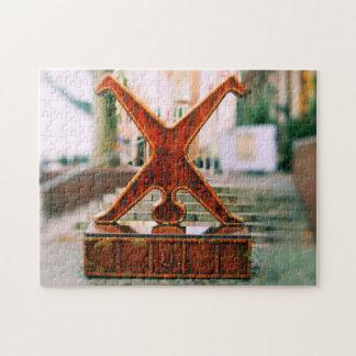Dusseldorf, Germany Cartwheel Symbol Puzzle