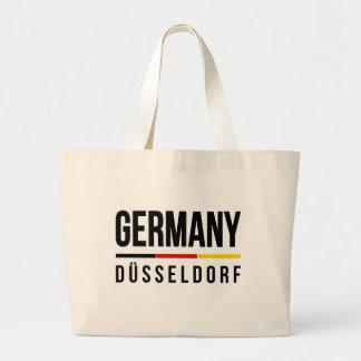 Düsseldorf Germany Large Tote Bag