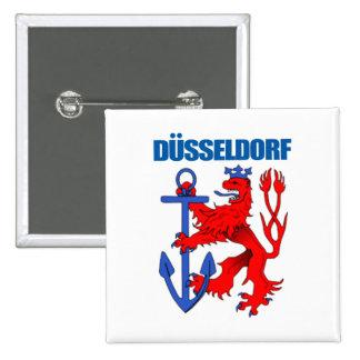 Düsseldorf Pin Cuadrada 5 Cm
