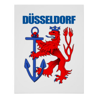 Dusseldorf Poster