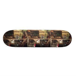 Dusstilldaan custom-made skateboard (tiki-bar)