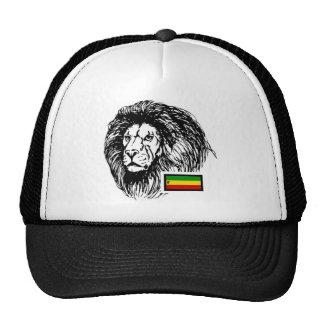 Dusstilldaan lion of judah, b/w trucker hat