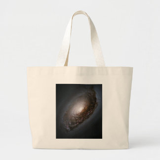 Dust Around the Nucleus of Black Eye Galaxy M64 Large Tote Bag