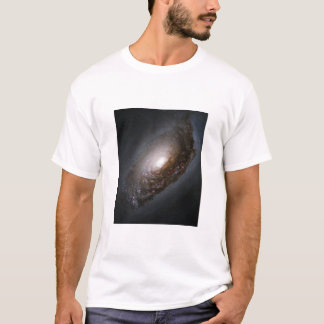 Dust Around the Nucleus of Black Eye Galaxy M64 T-Shirt