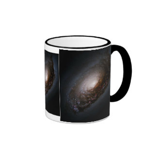 Dust Band Around the Nucleus of Galaxy M64 Mugs