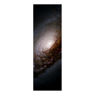 Dust Band Around the Nucleus of the Black Eye Gala Double-Sided Mini Business Cards (Pack Of 20)