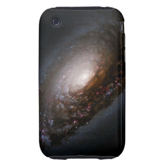 Dust Band Around the Nucleus of the Black Eye Gala iPhone 3 Tough Cover