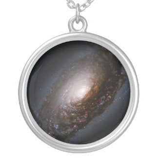Dust Band Around the Nucleus of the Black Eye Gala Custom Necklace
