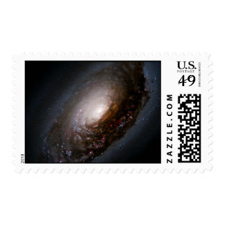 Dust Band Around the Nucleus of the Black Eye Gala Stamps
