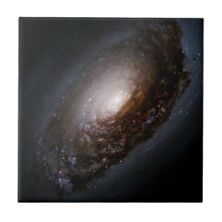 Dust Band Around the Nucleus of the Black Eye Gala Tiles