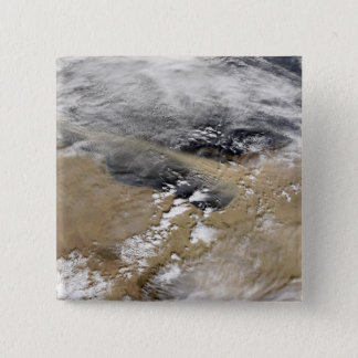 Dust blows off the coast of Libya Pinback Button