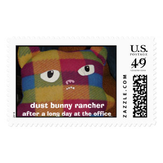dust bunny rancher stamp