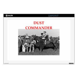 "dust commander 17"" laptop skins"