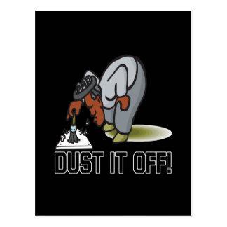 Dust It Off Postcard