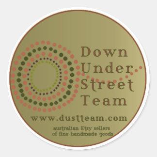 Dust logo sticker