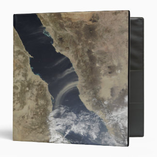Dust plumes blow off the coast of Saudi Arabia Binder