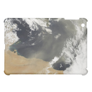 Dust plumes blowing off the north African coast iPad Mini Cover