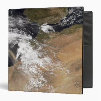 Dust plumes off the Moroccan coast 3 Ring Binders