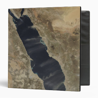 Dust plumes over the Red Sea 3 Ring Binder