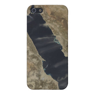 Dust plumes over the Red Sea iPhone 5 Cases