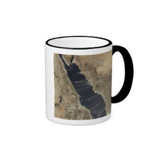 Dust plumes over the Red Sea Mug